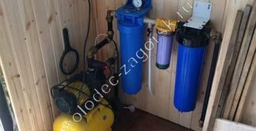 Установка насоса в колодец. Проведем воду из колодца в дом, в баню. Подключим водопровод