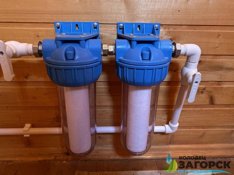 водоснабжение дома дмитровский район