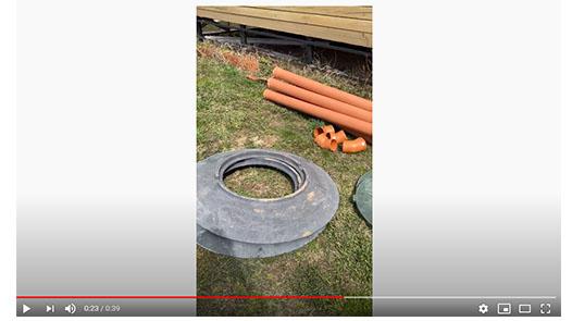 видео копка септик из колец