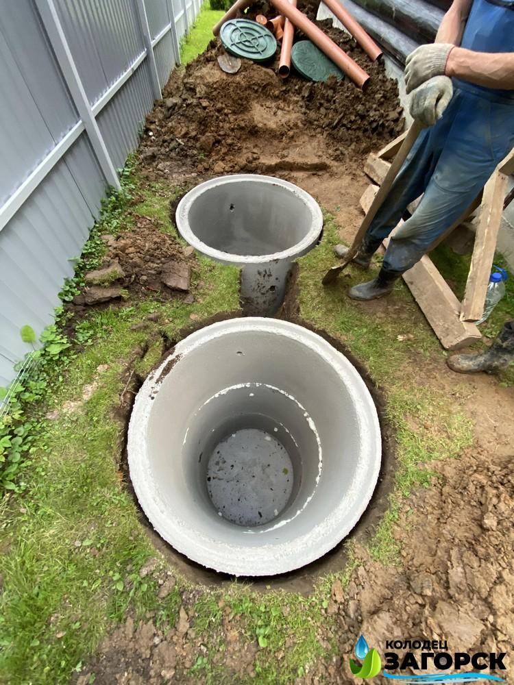 бетонирование дна в септике