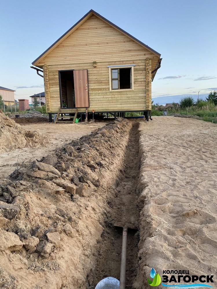 проведение воды в дом из коолдца