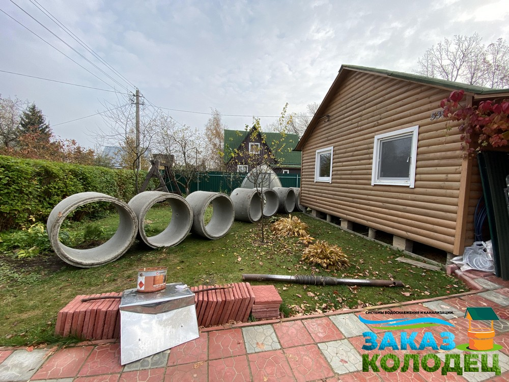Особенности установки септиков из колец в Щёлковском районе