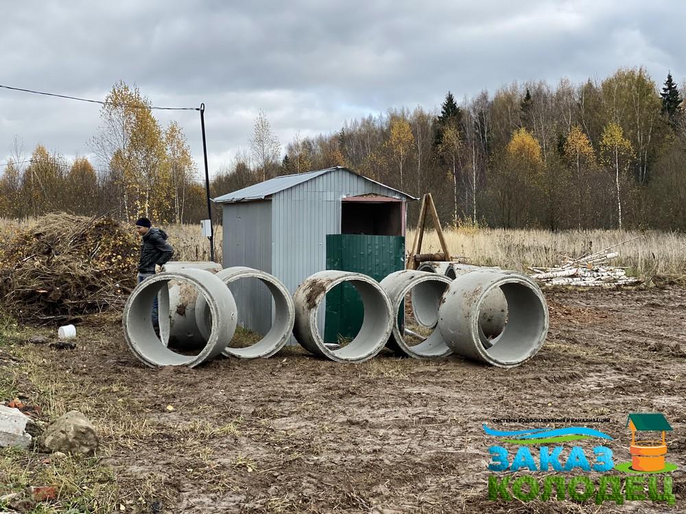 Особенности установки септиков из колец в Переславле-Залесском