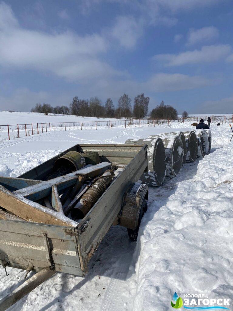 Септик из колец - канализация для дачи в Мытищах