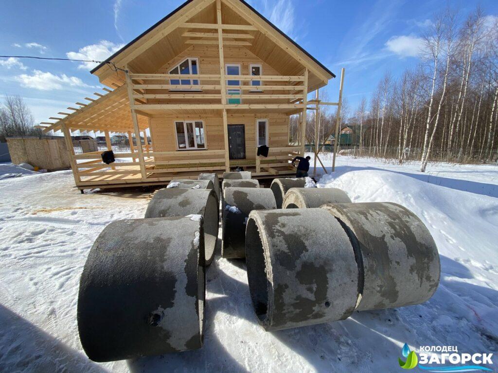 Почему выгодно ставить септики из бетонных колец в Щелковском районе